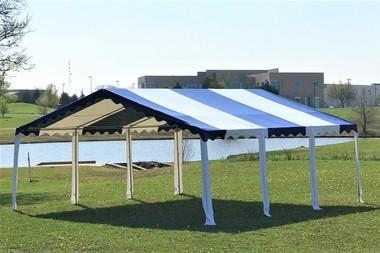 20x20 Budget PVC Color Tents