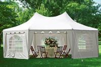 29'x21' Decagonal Party Tent - White