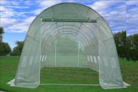 Greenhouse 20'x10' Round Top - Walk In Nursery