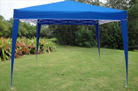 10'x10' Pop Up Canopy Party Tent EZ CS - Blue/White N