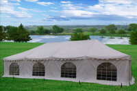 40'x20' Pole Tent PVC - White Party Wedding Canopy Shelter