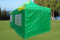 Green Yellow 10'x20' Pop up Tent with 6 Sidewalls - E Model