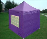 8'x8' Purple Basic - Pop up Tent