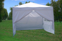 10'x10' Pop Up Canopy Party Tent EZ CS - White