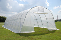 Greenhouse  33'x13' Clear - Walk In Nursery Hothouse