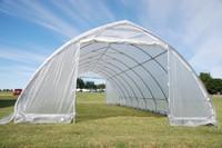 Greenhouse  40'x20' Clear - Walk In Nursery Hothouse