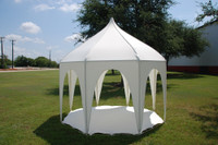 9'x9' Octagonal Tent Polyester Canopy Shade Shelter for Children