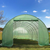 Greenhouse 26'x10' Round (B2) - Walk In Nursery (119 Pounds)