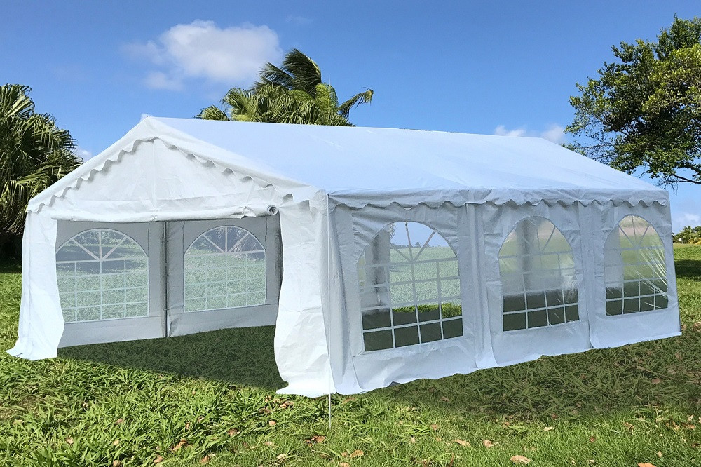 20' Series Budget PVC Tent White on door canopy, mobile home, bivouac shelter, bud light tent canopy, cantilever canopy, 10x20 canopy, tarp tent canopy, lights for tent canopy, 18 x 30 canopy, retractable canopy, sleeping bag,