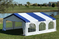 20'x20' Budget PVC Wedding Party Tent Canopy Shelter - Color Tents