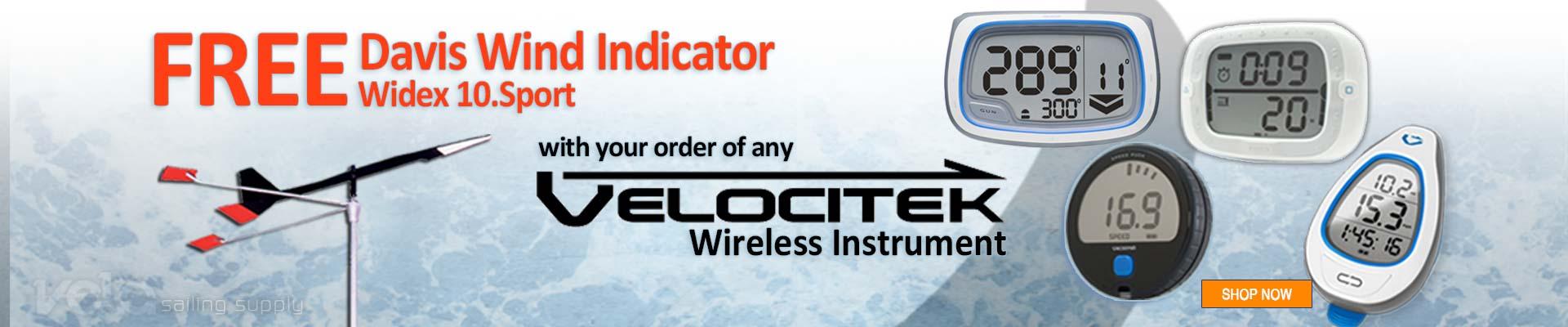 Velocitek Sailing Wireless Instruments