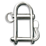 "Ronstan Shackle, Halyard, Pin 1/4"", L:32mm, W:19mm"