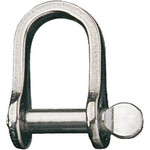 "Ronstan Shackle, Standard Dee, Pin 3/16"", L:18mm, W:11mm"