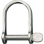 Ronstan Shackle, Wide Dee, Pin 5/16in, L:51mm, W:28mm