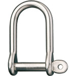 Ronstan Shackle, Wide Dee, Pin 1/2in, L:66mm, W:31mm