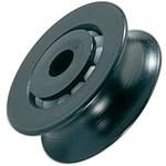 Ronstan Series 75 BB Sheave, Acetal, OD 75mm x W20.5mm x 3 x ID 6.3mm