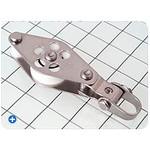 "Schaefer Fiddle Block / Track Size 1"" x 1-1/8"" (25 mm x 3.2 mm)"