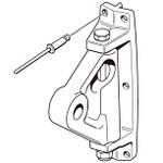 Selden Kicker Bracket 85/58 (Aluminum - Toggle)