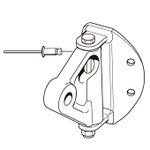Selden Kicker Bracket 100.111 (Aluminum - Toggle)