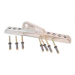 Selden Kicker Slider, Universal (rivets)