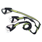 Spinlock Deckware Race 3 Clip Safety Line 1m, plus 2m elasticized
