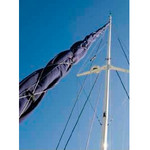 Vela Canvas Genoa UV Sleeve for Headstay up to 36 ft.