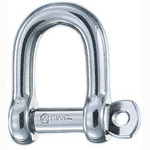 Wichard 5/32 Self Locking D Shackle