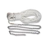 """Lewmar 8' 5/16"""" G4 150 1/2"""" Rope shackle/ 3/"""