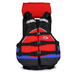 MTI Lifejacket Explorer, Red/Blue/Black
