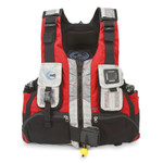 MTI Lifejacket Headwater R-Spec, Red/Aluminum