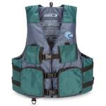 MTI Lifejacket Fisher, Green/Gray