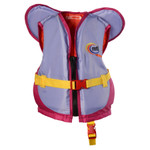 MTI Lifejacket Child w/Collar, Periwinkle/Berry, (30-50 lb)
