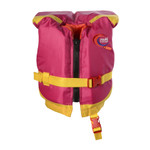 MTI Lifejacket Infant w/Collar, Berry/Yellow, (0-30 lb)