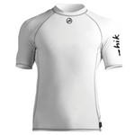 Zhik Men's Spandex Top Short Sleeve Men's Crisp White