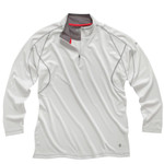 Gill Women's UV 1/4 Zip L/S Silver