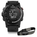 Garmin fenix 2 GPS Watch Performance Bundle w/HRM-Run, Wrist Strap, USB Cable, AC Adapter & Manual