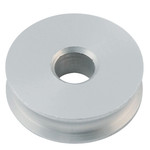 Allen Brothers 38mm X 6mm Plain Bearing Aluminium Sheave