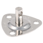 Allen Brothers Stainless Steel Swivel Base