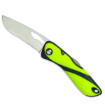 Wichard Offshore Serrated Knife Fluo