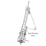 CDI FF4 Tack Tension Line