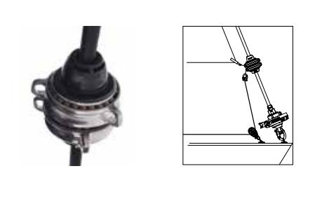 Selden Adjustable Tack Swivel for GX15