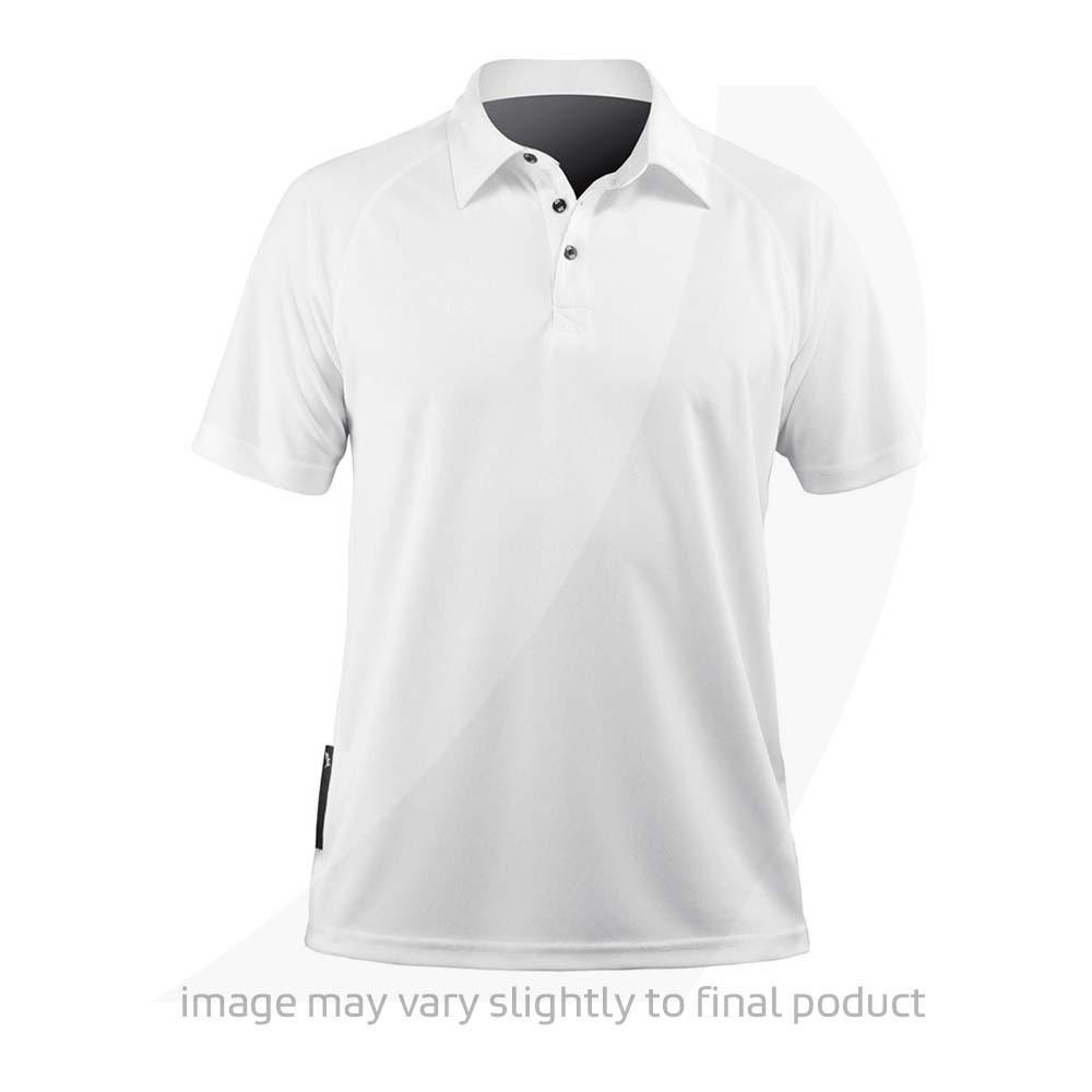 Zhik Mens Short Sleeve Zhikdry Lt Polo White Atp 0870 M Wht