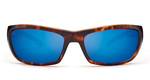 Kaenon Cowell Matte Tortoise Polarized Pacific Blue Mirror Lens