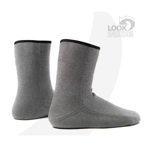 Rooster Supertherm Wet Socks 4mm Neoprene 106816 Inside Look