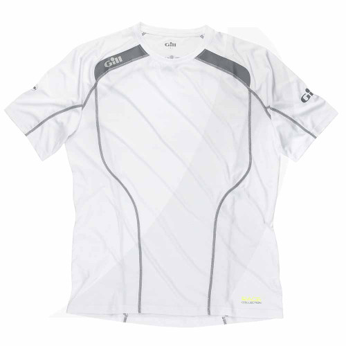 Gill Race Collection  Short Sleeve T-Shirt White RC020
