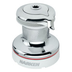 Harken Radial 2 Speed Size 40 Chrome Self-Tailing Winch White
