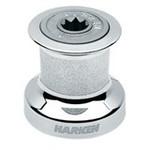Harken Single Speed Winch Size 6 w/chromed bronze base & drum, alum top