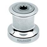 Harken Single Speed Winch Size 8 w/chromed bronze base & drum, alum top