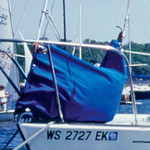 Harken Harken Canvas Headsail Bag Large (Pacific Blue)