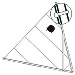 Laser Performance Sunfish Sail Snap Ring, Bag Of 30